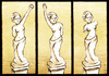 Cartoon: apolitical is beautiful (small) by Giacomo tagged art policy venus beauty communism fascism sculpture giacomo cardelli jack lombrio