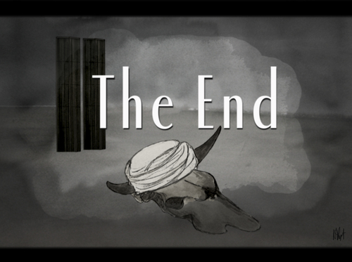 Cartoon: Ben Laden The End (medium) by No tagged ben,laden,osama,bin,terrorism,world,trade,center