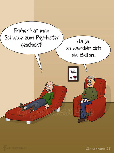 Cartoon: Psychiater (medium) by fcartoons tagged couch,fun,funny,upset,rage,gay,man,picture,psychiatrist,red,bild,brille,cartoon,fcartoons,lustig,psychiater,psychology,rot,schwul,sofa,verrückt