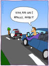 Cartoon: FOLLOW ME (small) by fcartoons tagged follow,me,twitter,iphone,car,police,street,cartoon,tree