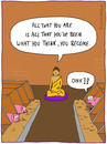 Cartoon: IN THE SHED (small) by fcartoons tagged in,the,shed,buddha,pig,hog,stall,wall,quote,pillow,religion,schwein,kissen,oink,futter,schweine,hogs