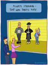 Cartoon: Tobey (small) by fcartoons tagged tobey,police,line,up,mafia,nazi,identify