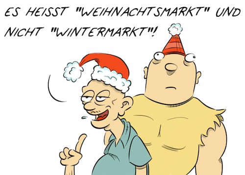 Cartoon: Feliz Navidad (medium) by Rob tagged neonazi,nazi,norbert,weihnachten,santa,christmas,weihnachtsmarkt,wintermarkt,winter