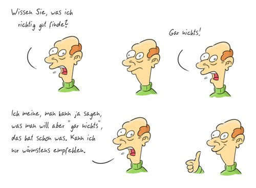 Cartoon: Kommentar3 (medium) by Rob tagged commentary,kommentar,guy,typ