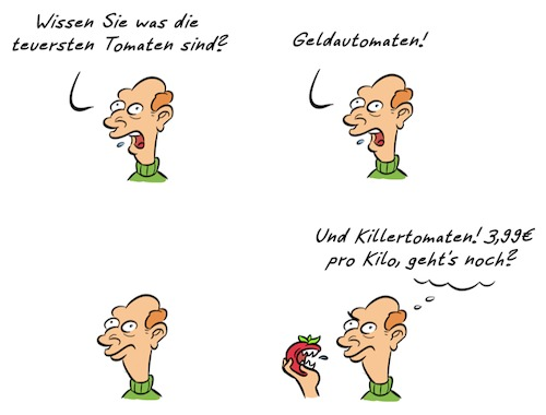 Cartoon: Kommentar Tomaten (medium) by Rob tagged kommentar,kommentator,tomate,tomaten,tomato,tomatos