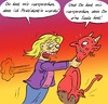 Cartoon: Der Pakt (small) by Rob tagged hillary,clinton,teufel,devil,us,usa,amerika,america,united,states,hell,seele,soul