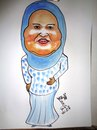 Cartoon: SUHAIR SAFOURY (small) by AHMEDSAMIRFARID tagged ahmed,samir,farid,ahmedsamirfarid,suhair,safoury,cartoon,caricature,famous,people,illustrator