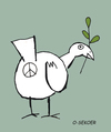Cartoon: peace (small) by o-sekoer tagged peace
