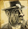 Cartoon: karl malden (small) by sylvia tagged karl,malden,fairy