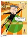 Cartoon: Putin World Cup (small) by Amorim tagged putin,world,cup,russia,2018,trump