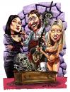 Cartoon: How to make a corpse DVD (small) by Ian Baker tagged horror,scream,queen,corpse,caricature