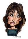 Cartoon: Penelope Cruz (small) by Ian Baker tagged actress,penelope,cruz,films,star,ian,baker,caricature,cartoon,beauty,hollywood,mexico,tom,cruise,tv