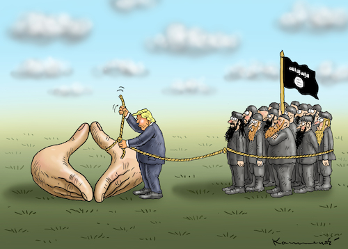 Cartoon: GERMAN NATIONAL EMERGENCY (medium) by marian kamensky tagged venezuela,maduro,trump,putin,revolution,oil,industry,socialism,venezuela,maduro,trump,putin,revolution,oil,industry,socialism