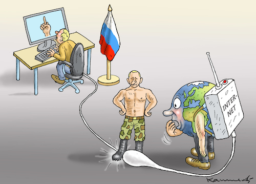 Cartoon: INTERNETSTOPP IN RUSSLAND (medium) by marian kamensky tagged selenskyj,ukraine,rüstungsgeld,trump,wahllampfhilfe,joe,biden,amtsenthebungsverfahren,internetstopp,in,russland,selenskyj,ukraine,rüstungsgeld,trump,wahllampfhilfe,joe,biden,amtsenthebungsverfahren,internetstopp,in,russland