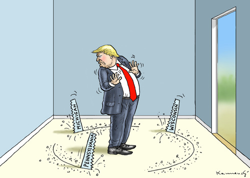 Cartoon: TRUMP IST BESORGT (medium) by marian kamensky tagged obama,trump,präsidentenwahlen,usa,baba,vanga,republikaner,demokraten,tv,duell,versus,clinton,jill,stein,stimmennachzählung,faschismus,obama,trump,präsidentenwahlen,usa,baba,vanga,republikaner,demokraten,tv,duell,versus,clinton,jill,stein,stimmennachzählung,faschismus