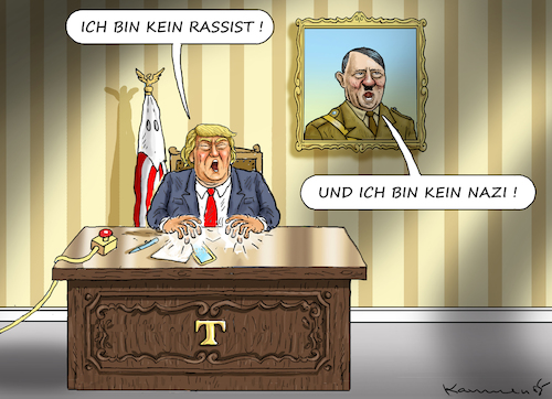 Cartoon: UNSCHULDSLAMM TRUMP (medium) by marian kamensky tagged brexit,theresa,may,england,eu,schottland,weicher,wahlen,boris,johnson,nigel,farage,ostern,seidenstrasse,xi,jinping,referendum,trump,monsanto,bayer,glyphosa,strafzölle,brexit,theresa,may,england,eu,schottland,weicher,wahlen,boris,johnson,nigel,farage,ostern,seidenstrasse,xi,jinping,referendum,trump,monsanto,bayer,glyphosa,strafzölle
