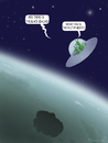Cartoon: Aliens in Gulf of Mexico (small) by marian kamensky tagged gulf mexico bp oil