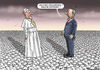 Cartoon: Armenier Papst und Edrogan (small) by marian kamensky tagged armenier,papst,und,edrogan
