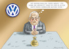 Cartoon: Armer Winterkorn (small) by marian kamensky tagged vw,passant,null,emissionen,zukunftspakt,winterkorn