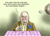 Cartoon: DER ARME GAULAND (small) by marian kamensky tagged boateng,gauland,afd,nazis,rassismus