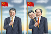 Cartoon: DER NEUE MAO TSE TUNG XXL-Xi (small) by marian kamensky tagged xi,jingping,china,diltatur,nationalismus