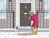 Cartoon: DOWNING STREET NUMBER ZERO (small) by marian kamensky tagged brexit,theresa,may,england,eu,schottland,weicher,wahlen,boris,johnson,nigel,farage,no,deal,referendum
