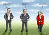 Cartoon: DREXIT (small) by marian kamensky tagged drexit,brexit,grexit