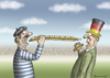 Cartoon: ES GEHT UM LA WURST (small) by marian kamensky tagged em,in,frankreich,terrorgefahr,is,sicherheit