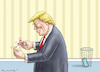 Cartoon: FIDGET SPINNER RETTET DIE WELT (small) by marian kamensky tagged obama,trump,präsidentenwahlen,usa,baba,vanga,republikaner,inauguration,demokraten,fbi,james,comey,fidget,spinner,wikileaks,faschismus