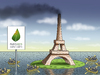 Cartoon: Klimagipfel in Paris (small) by marian kamensky tagged obamas,klimaziele,usa,co2,ausstoss,paris,klimagipfel,in