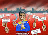 Cartoon: MADURO IN VENEZUELA (small) by marian kamensky tagged maduro,in,venezuela