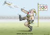 Cartoon: ANNA BOLIKA IN RIO (small) by marian kamensky tagged rio,2016,zika,virus,olympische,spiele,doping,putin