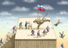 Cartoon: PRÄSIDENTENWAHL IN RUSSLAND (small) by marian kamensky tagged präsidentenwahl,in,russland,putin,nationalismus