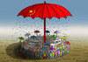 Cartoon: Regenschirmrevolution (small) by marian kamensky tagged honkong,proteste,china,demokratie,regenschirmrevolution