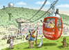 Cartoon: Schleinikon Tourismus (small) by marian kamensky tagged schweiz,tourismus,kommerz