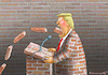 Cartoon: TRUMPS REDE ZUR LAGE DER NATION (small) by marian kamensky tagged venezuela,maduro,trump,putin,revolution,oil,industry,socialism