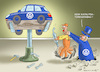 Cartoon: VW-KATALYSATORENDRAMA (small) by marian kamensky tagged dieselaffenaffäre,mathias,müller,vw,winterkorn,scheuer,katalysatorendrama