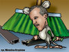 Cartoon: karykatura_44_16 (small) by Krzyskow tagged karykatura