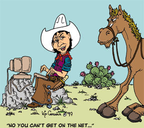Cartoon: Buckshot (medium) by kidcardona tagged cartoon,western,cowboy,horse,comic,gag