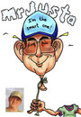 Cartoon: caricature of friend (small) by kidcardona tagged caricature,funny,cartoon