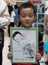 Cartoon: China (small) by kidcardona tagged caricature,china,funny,humor,cartoon