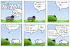 Cartoon: Mafia - Mäscot (small) by maescot tagged webcomic,comic,schaf,niedlich