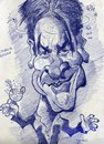 Cartoon: Charlie Sheen. Scribble. (small) by RoyCaricaturas tagged charlie,sheen,famous,actor,celebrities,tv,film