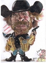 Cartoon: Chuck Norris Texas Ranger (small) by RoyCaricaturas tagged chuck,norris,actors,cartoon,texas