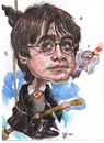Cartoon: Harry Potter child (small) by RoyCaricaturas tagged harry,potter,hollywood,actors,cartoons