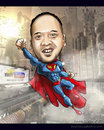 Cartoon: noytube superman (small) by juwecurfew tagged superman