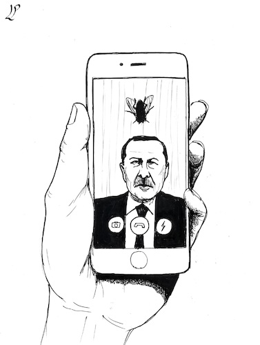 Cartoon: 15 July 2016 Putsch in Turkey (medium) by paolo lombardi tagged turkey