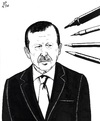 Cartoon: All are with Musa Kart (small) by paolo lombardi tagged turkey,erdogan,freedom