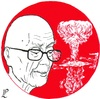 Cartoon: August 6 (small) by paolo lombardi tagged peace,war,japan