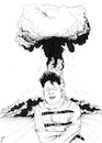 Cartoon: Crazy World (small) by paolo lombardi tagged korea,usa,war,peace